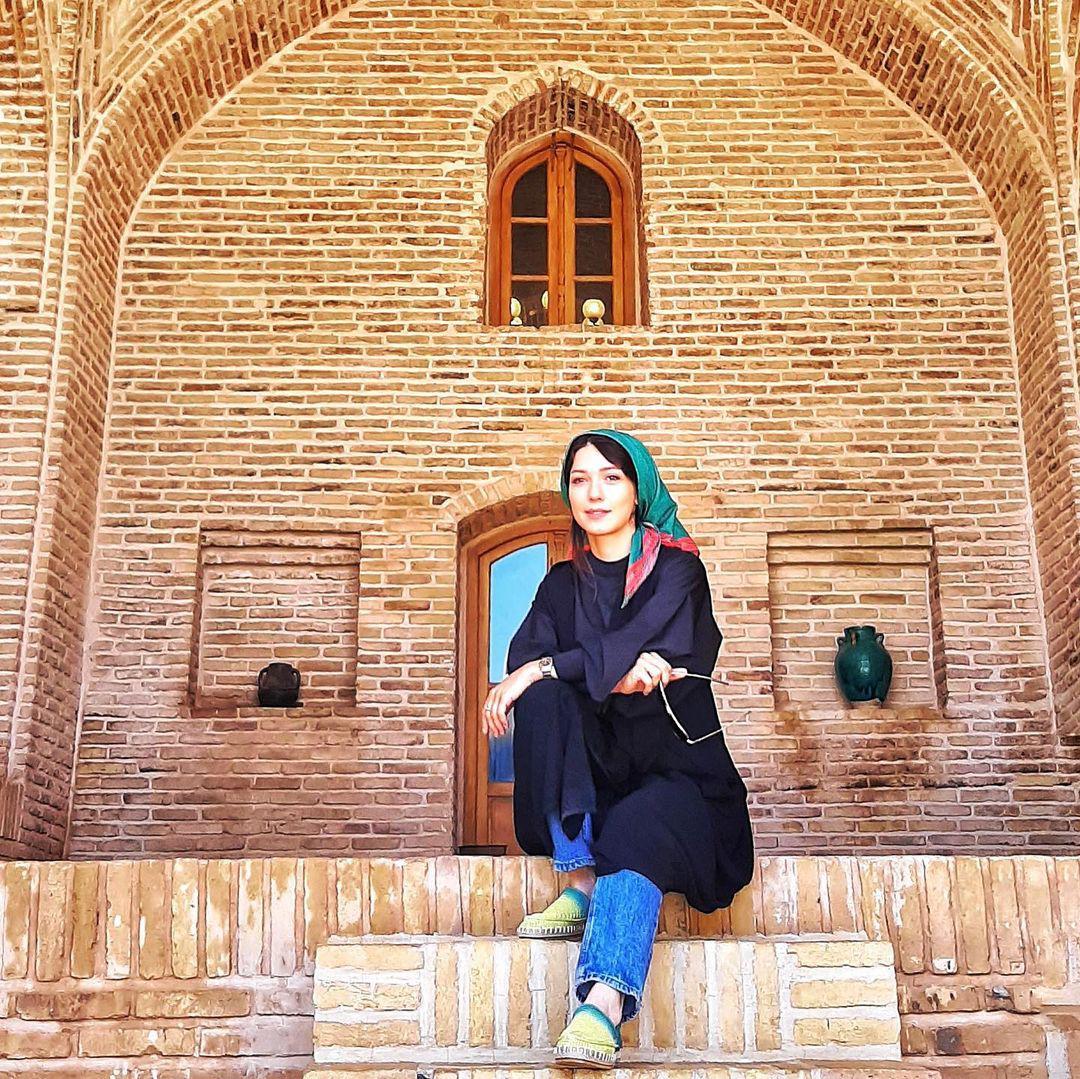 کویرگردی شهرزاد کمالزاده+ عکس