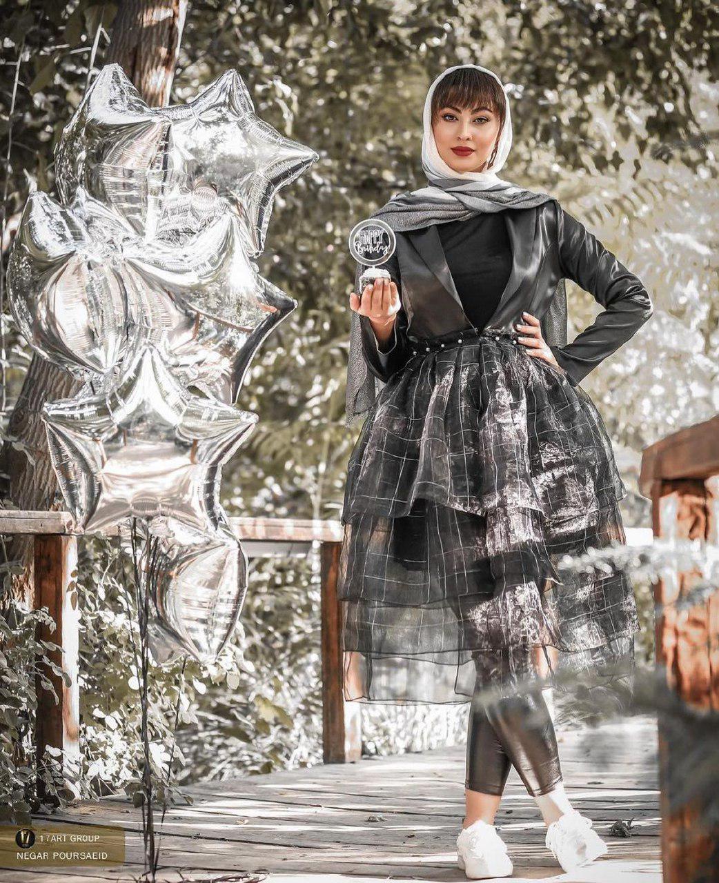 ژست خفن مریم مومن با لباسی خاص+ عکس
