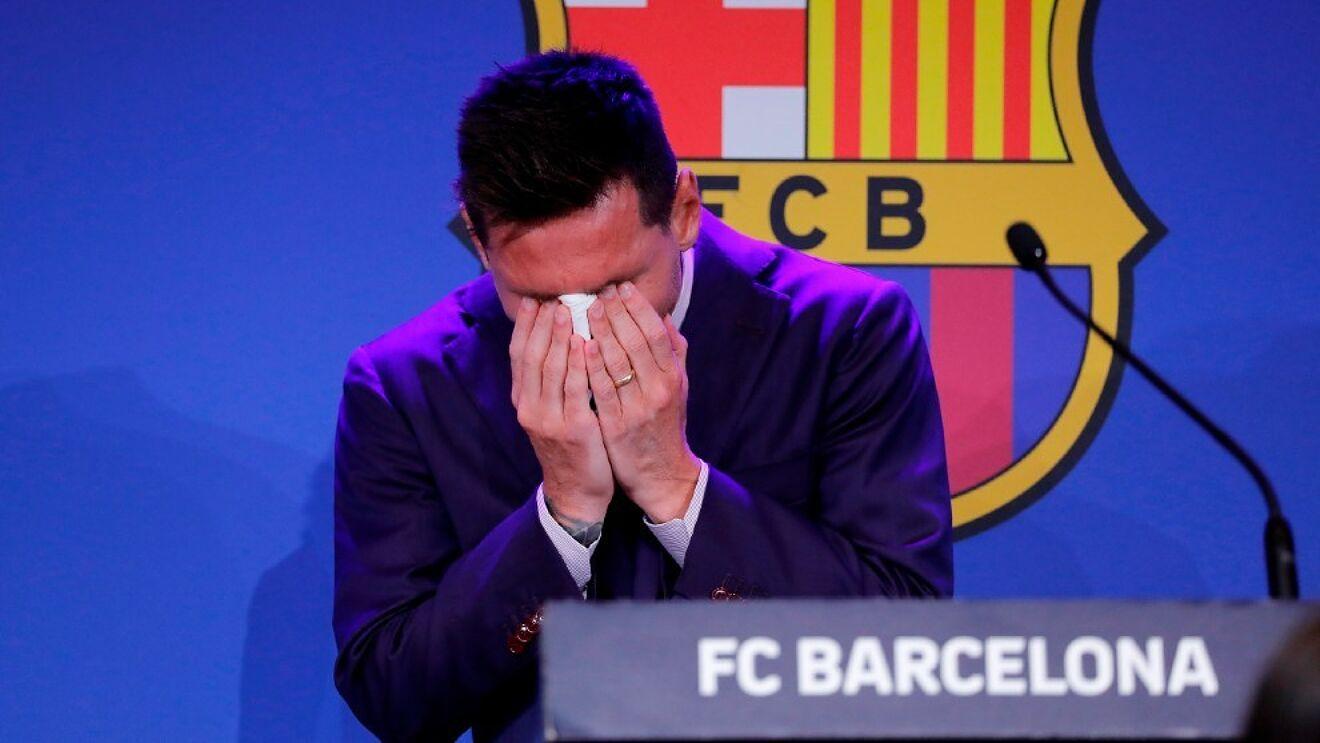 مصاحبه غیرمنتظره لیونل مسی به بارسلونا