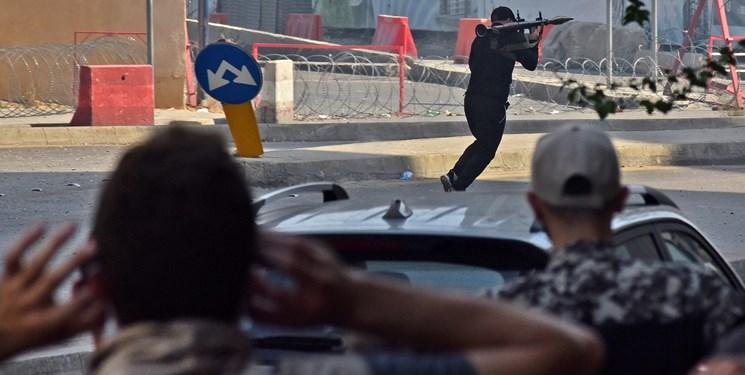 تداوم درگیری مسلحانه در بیروت