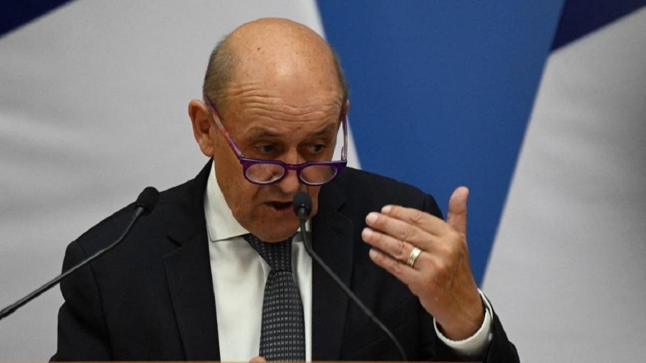 لودریان: فرانسه از برقراری ارتباط با گروه طالبان اجتناب میکند