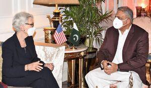جزئیات دیدار مقام آمریکایی با فرمانده ارتش پاکستان