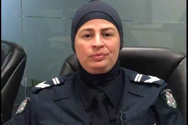 پلیس زن