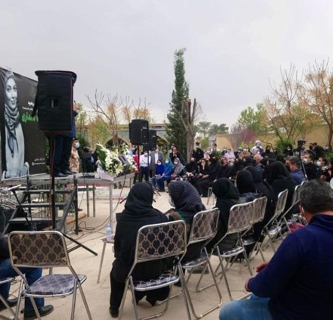 مراسم یادبود آزاده نامداری