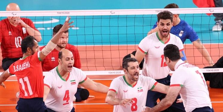 قهرمانی مقتدرانه تیم ملی والیبال نشسته ایران در پارالمپیک توکیو