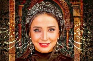 تاج شاهانه شبنم قلی خانی /عکس