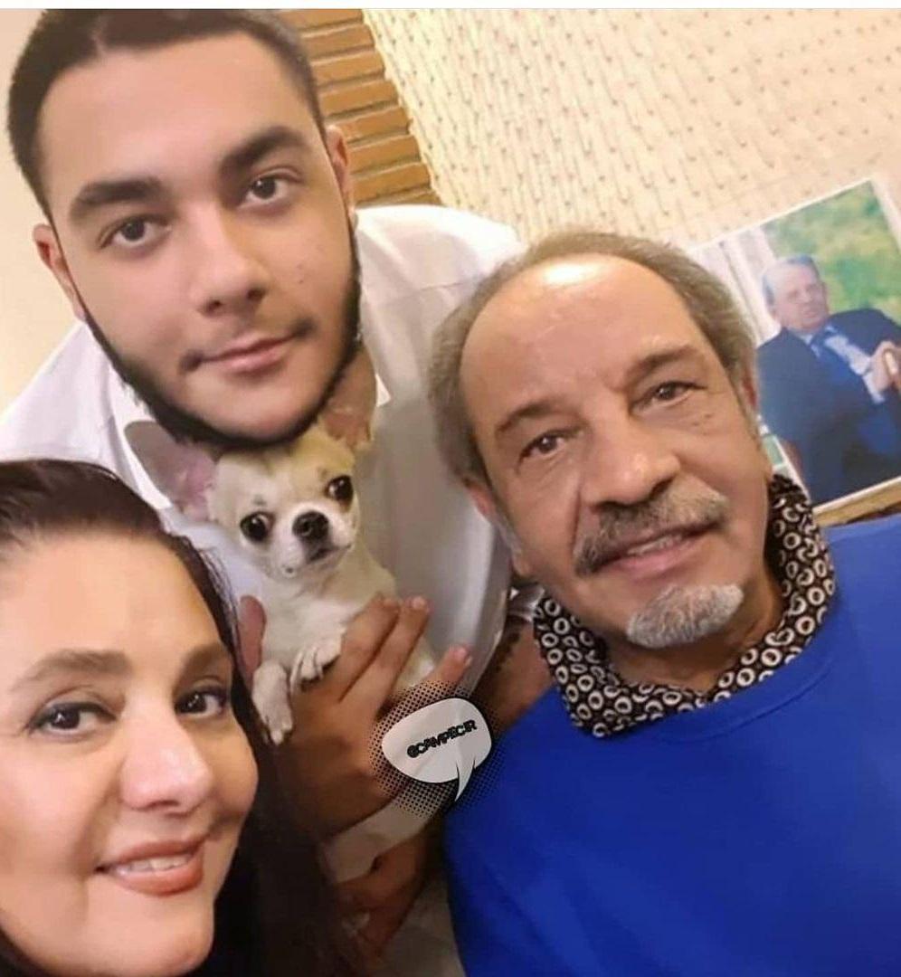 داریوش فرهنگ در کنار همسر و فرزندش+ عکس