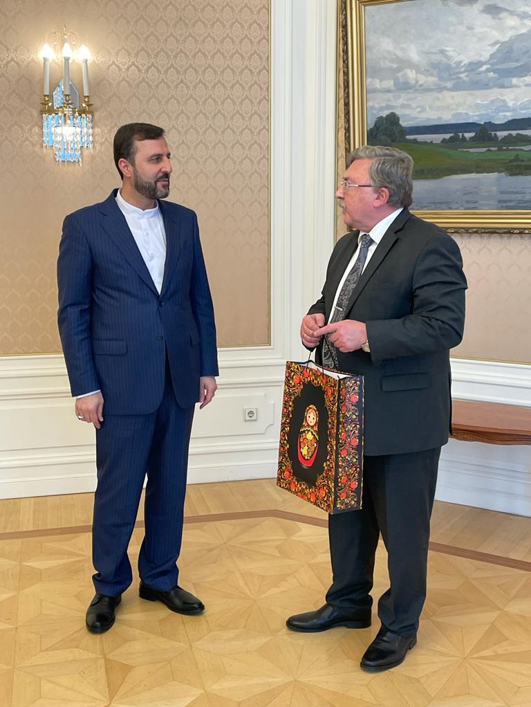 دیدار خداحافظی غریبآبادی با اولیانوف