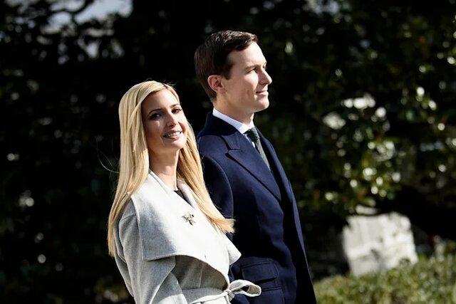 ایوانکا ترامپ و شوهرش خودشان را  خاندان سلطنتی آمریکا میدانستند