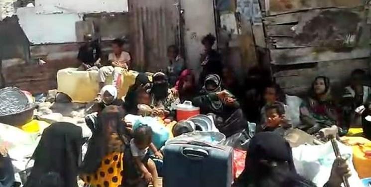 جنایت مزدوران امارات در یمن