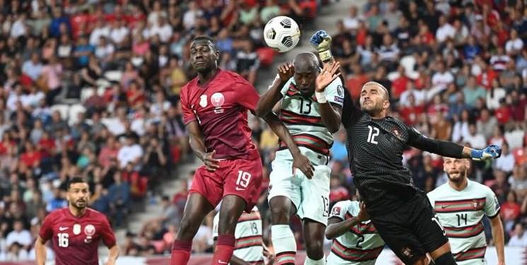 میزبان جام جهانی  در مقابل پرتغال شکست خورد