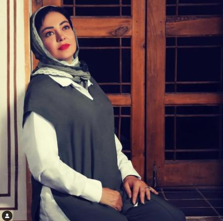 رزیتا غفاری در پی روزنه امید /عکس