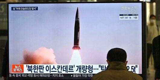 آزمایش موشک بالستیک دوربرد در کره شمالی