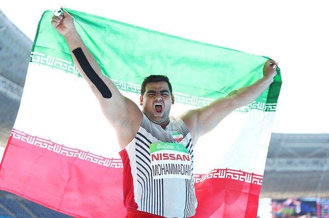 مدال نقره سجاد محمدیان دز پارالمپیک توکیو