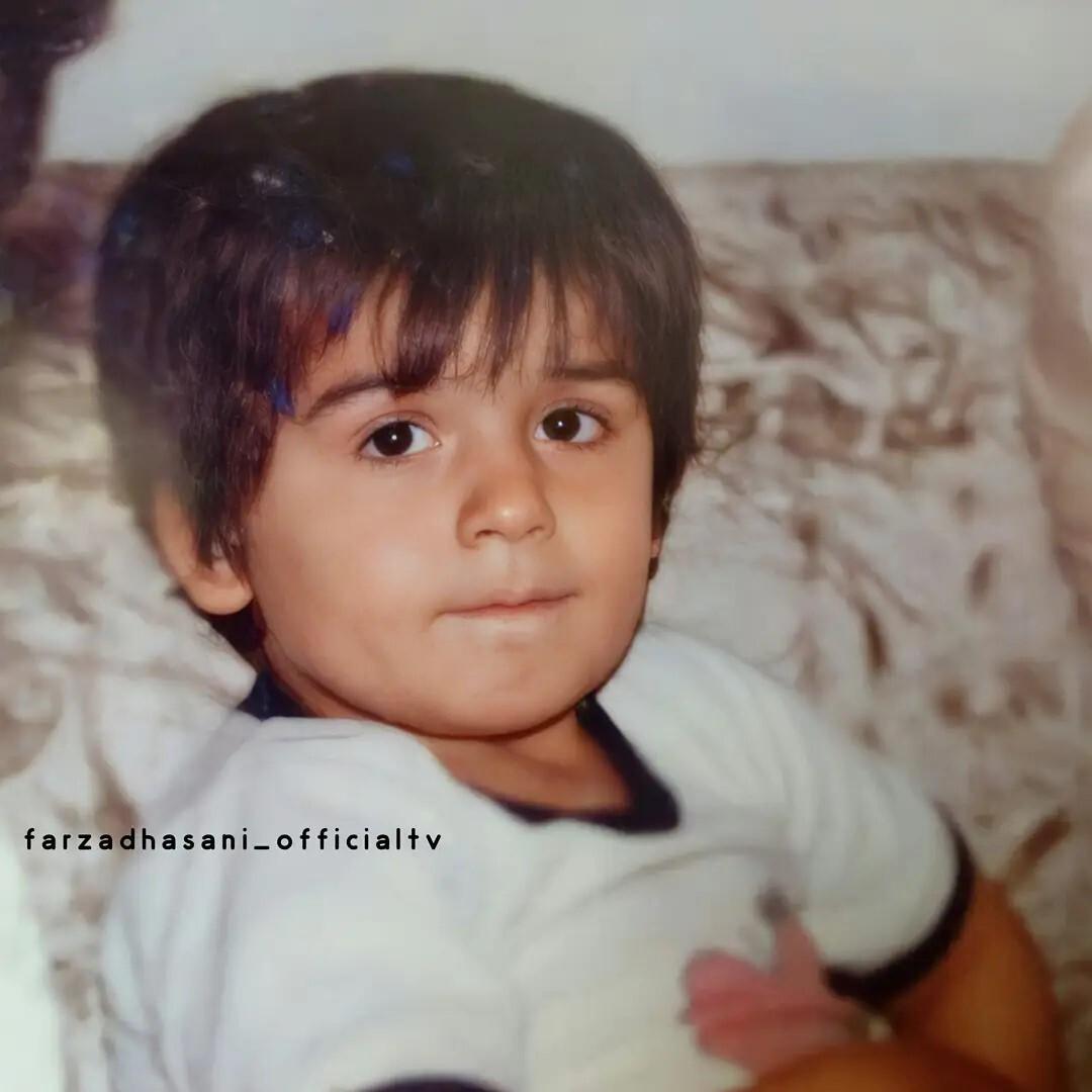 تصویری دیده نشده از کودکی فرزاد حسنی