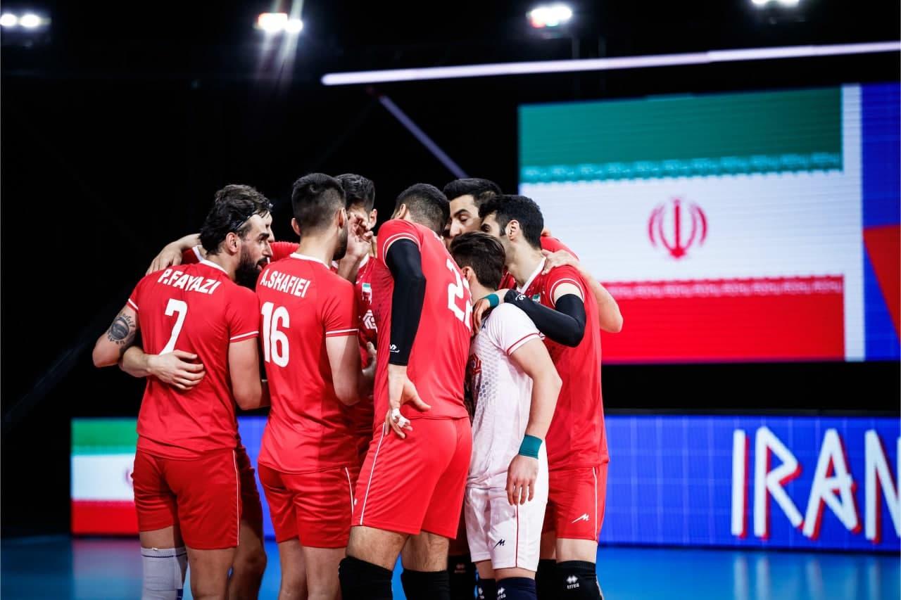 پخش زنده والیبال ایران و هلند