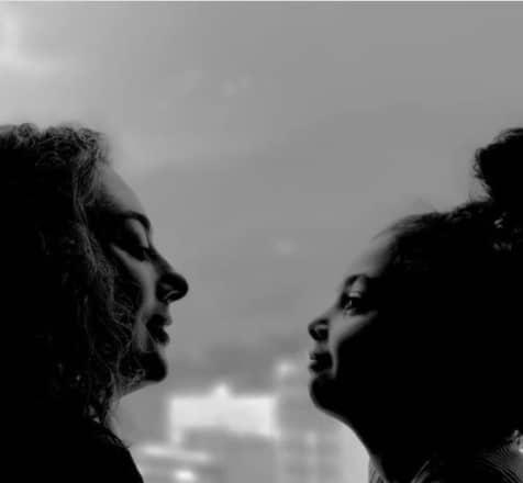 نیمرخ زیبای یکتا ناصر و دخترش /عکس