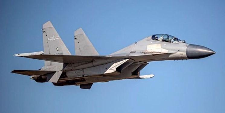 پرواز جنگندههای جی-16 چین در منطقه پدافندی تایوان