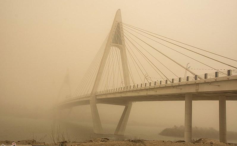 گرد و غبار. جنوب