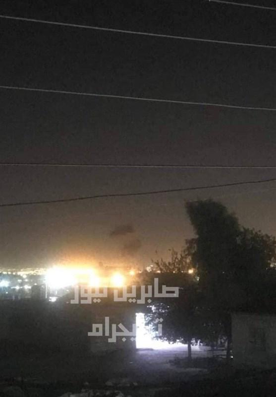 حمله راکتی و پهپادی به پایگاه نظامیان آمریکایی در فرودگاه اربیل
