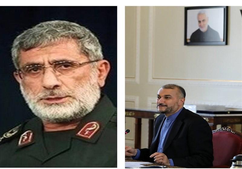 دلیل حضور سردار قاانی در وزارت خارجه ایران؟