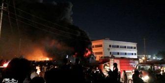 آتشسوزی در بیمارستانی در جنوب عراق