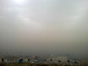 عکس / هوای امروز تهران