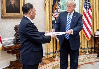 ترامپ محتوای نامه محرمانه رهبر کره شمالی را لو داد!