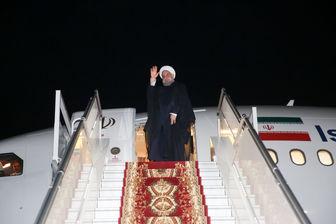 رئیس جمهور ایروان را به مقصد تهران ترک کرد