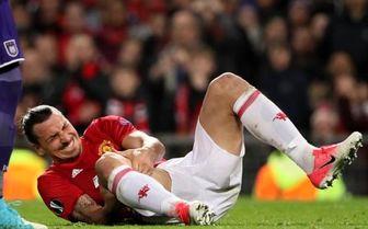 بد شانسی مهاجم منچستر/خداحافظی زلاتان از فوتبال با مصدومیت