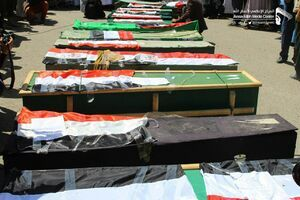 ۱۰۰ گلوله توپخانه هدیه عربستان به کودکان یمنی در یک روز