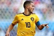 بهترین بازیکن دیدار بلژیک و انگلیس
