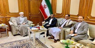 دیدار مقامهای یمنی با سفیر ایران در عمان