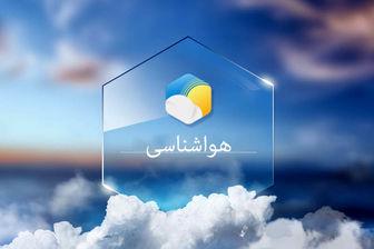 رگبار باران همراه و رعد و برق در برخی استان ها در 19 اسفند