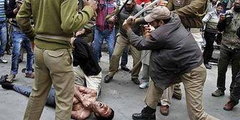 حمایت پلیس هند از حملات وحشیانه به مسلمانان تنفر جهانی را برانگیخته است