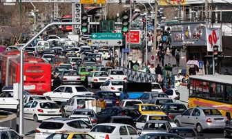 ترافیک نیمه سنگین در ورودی پایتخت/ وزش باد در تهران و البرز