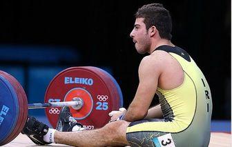 قهرمان المپیک به اردوی تیم ملی وزنه برداری نرفت!