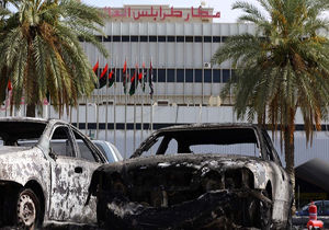 لغو پروازهای فرودگاه معیتیقه لیبی