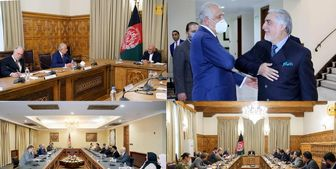 دیدارهای جداگانه خلیلزاد با «غنی» و «عبدالله» درباره افغانستان