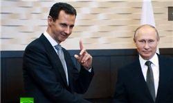 حمایت اسد از حضور روسیه در سوریه