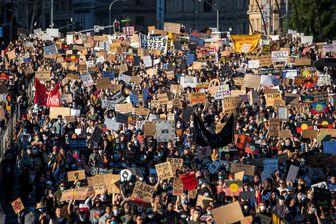 حضور خیابانی مردم کشورهای حهان در محکومیت نژادپرستی