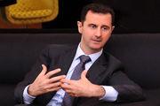 حضور بشار اسد در نماز عید قربان