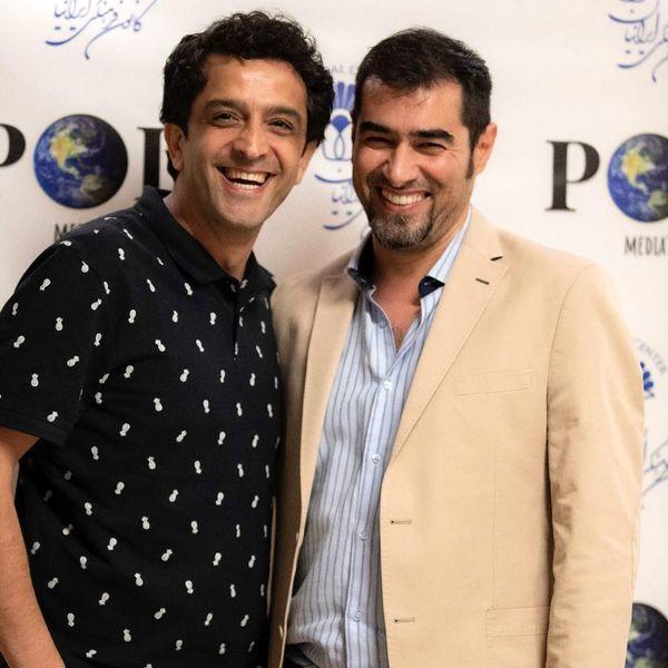 مجید یاسر در کنار شهاب حسینی + عکس