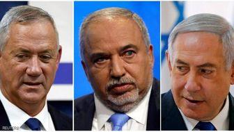 لیبرمن از نتانیاهو و گانتس خواست برای نخستوزیری شیر یا خط بیندازند