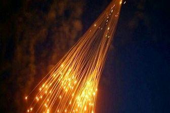 ائتلاف آمریکا با بمبهای فسفری حومه دیر الزور را بمباران کرد