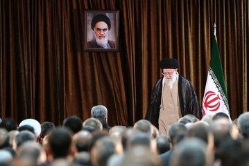 دیدار وزیر و مسئولان وزارت خارجه با رهبر معظم انقلاب/ گزارش تصویری