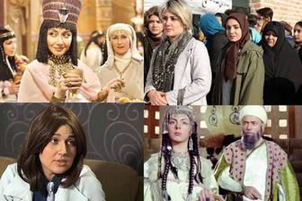 بازیگران زن ایرانی که با کلاهگیس در تلویزیون دیده شدند/ تصاویر