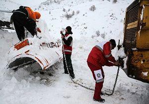 امداد رسانی به 513 نفر در برف و کولاک