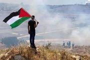 جمله رهبر انقلاب بر روی دیوار مرزی فلسطین+ تصاویر