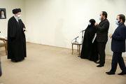 دیدار رهبر انقلاب اسلامی با خانواده دانشمند شهید محسن فخریزاده/ گزارش تصویری
